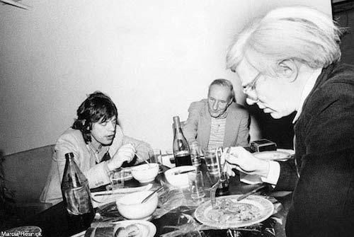 Rolling Stones & Jagger, Mick & Burroughs, William S. & Warhol,