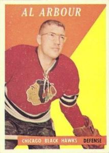 1958-59 topps 64 al arbour